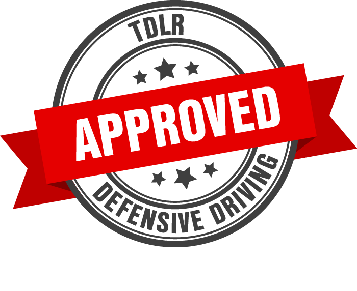 TDLR Approved Defensive Driving